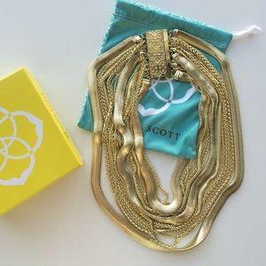 Kendra Scott Gold Wylie necklace